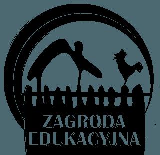 Zagroda Edukacyjna Logo czarne